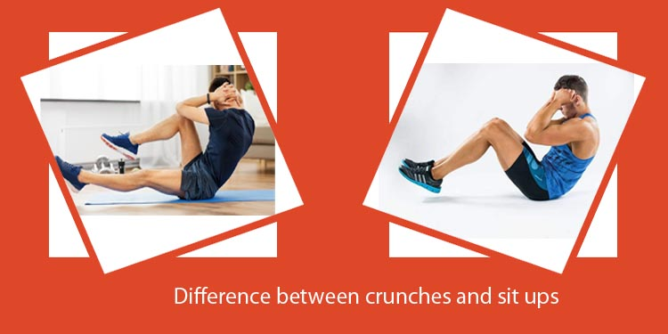 Difference between crunches and sit ups