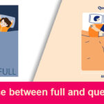 Difference between full and queen bed